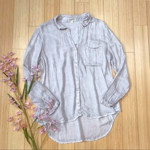 Anthropologie Cloth & Stone soft button down, S.